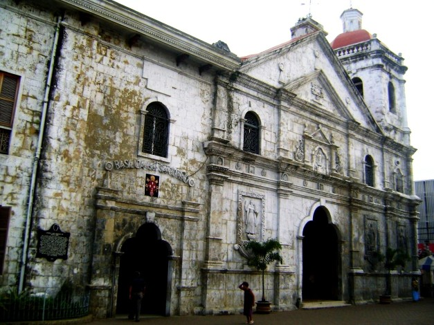 The Entrance of Basilica Del Sto. Nino