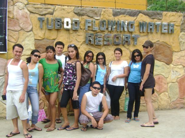 Entrance of Tubod Flowing Water Resort