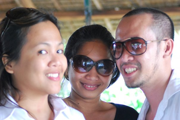 Karla, Coleen and Beaunito Cran