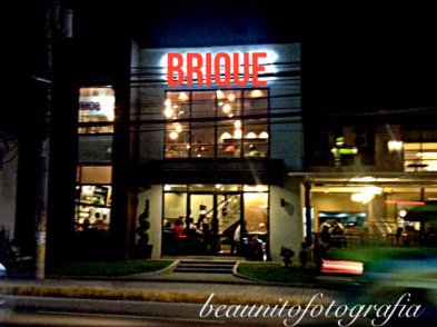Brique - the facade