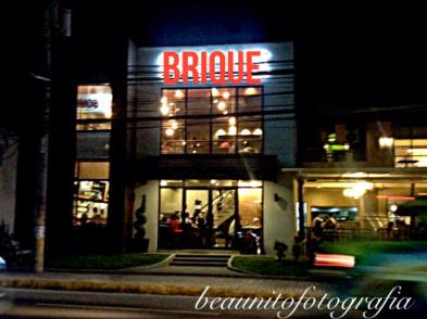 Brique - the facade